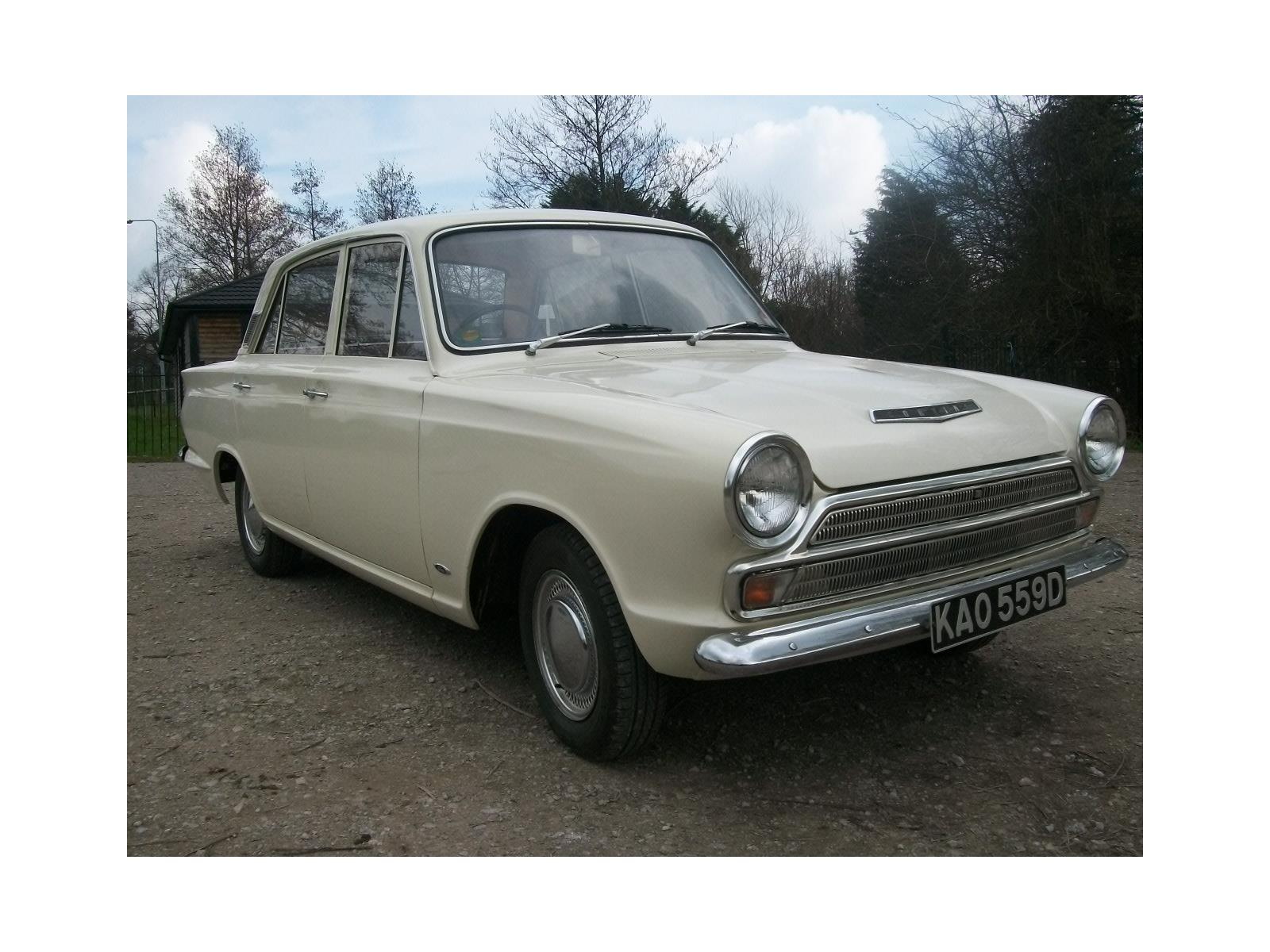 1966 FORD CORTINA MK1 (113E) 4 DOOR SALOON