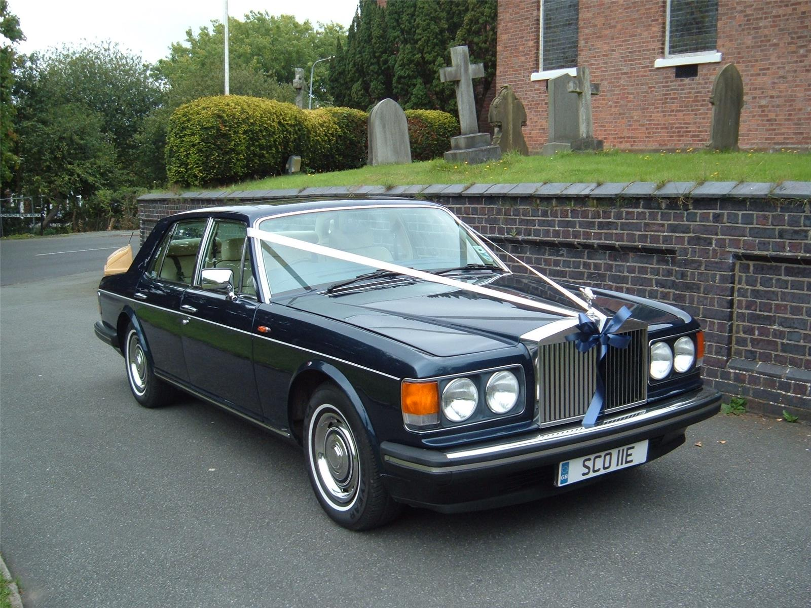 1987 Rolls-royce Silver Spirit 4 Door Saloon
