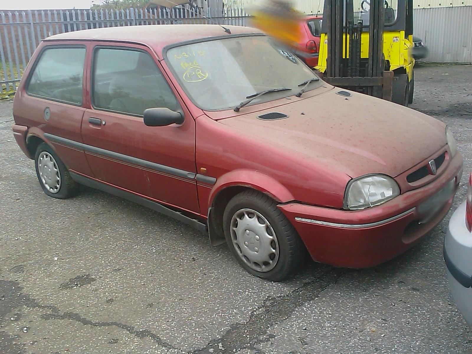 1997 Rover 100 1994 To 1999 3 Door Hatchback