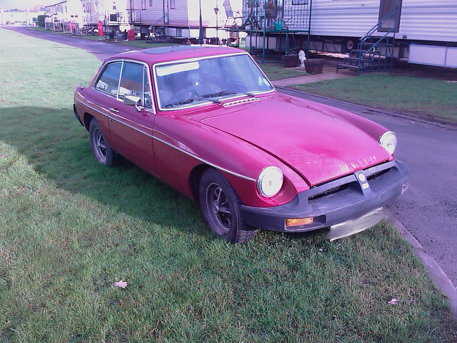 1977 MG B 1973 To 1980 2 Door Coupe
