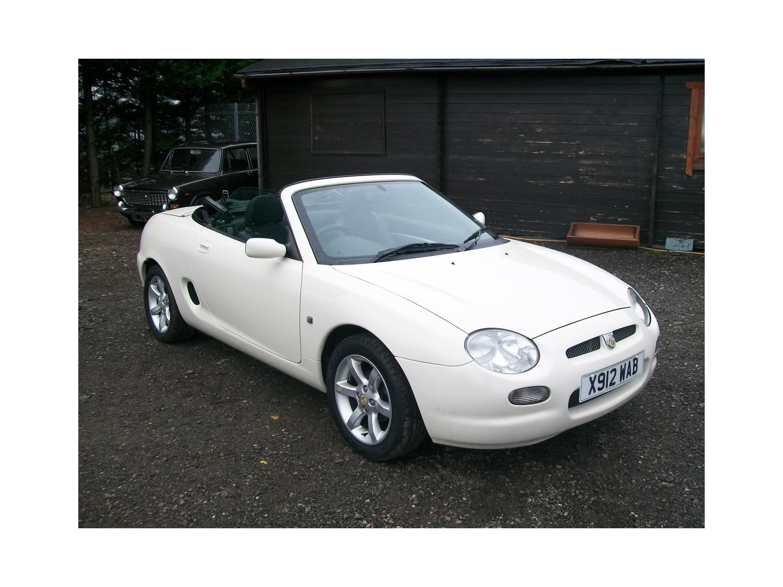 2000 Rover MGF 1995 To 2002 2 Door Cabriolet