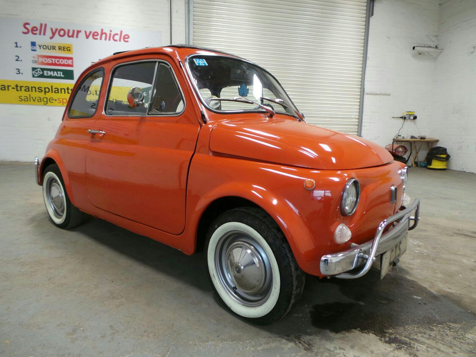 1970 Fiat 500 2 Door Saloon