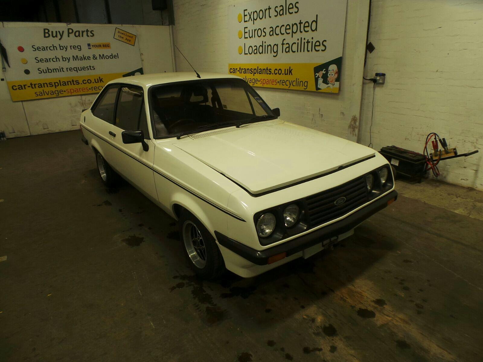 1979 Ford Escort 2 Door Saloon