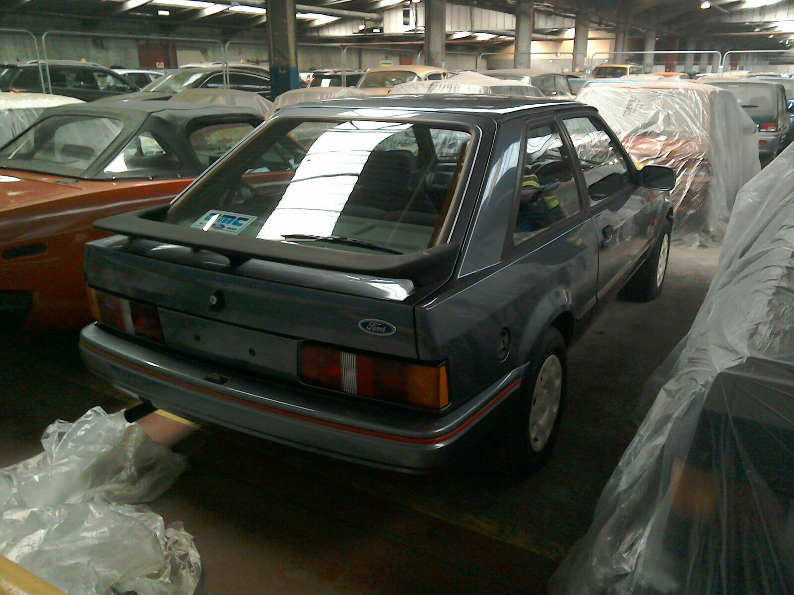 1987 Ford Escort 3 Door Hatchback