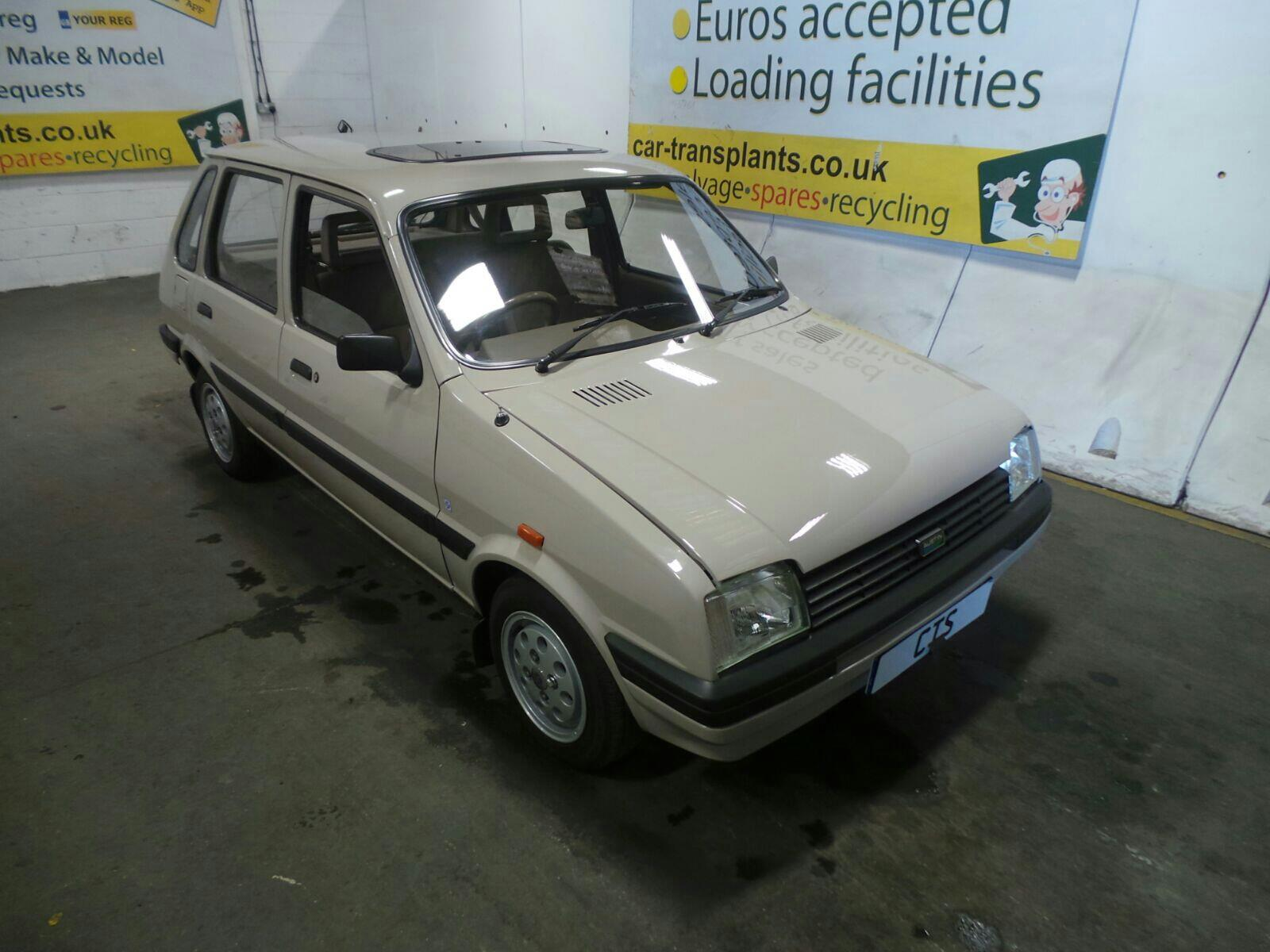 1989 Austin Metro 5 Door Hatchback