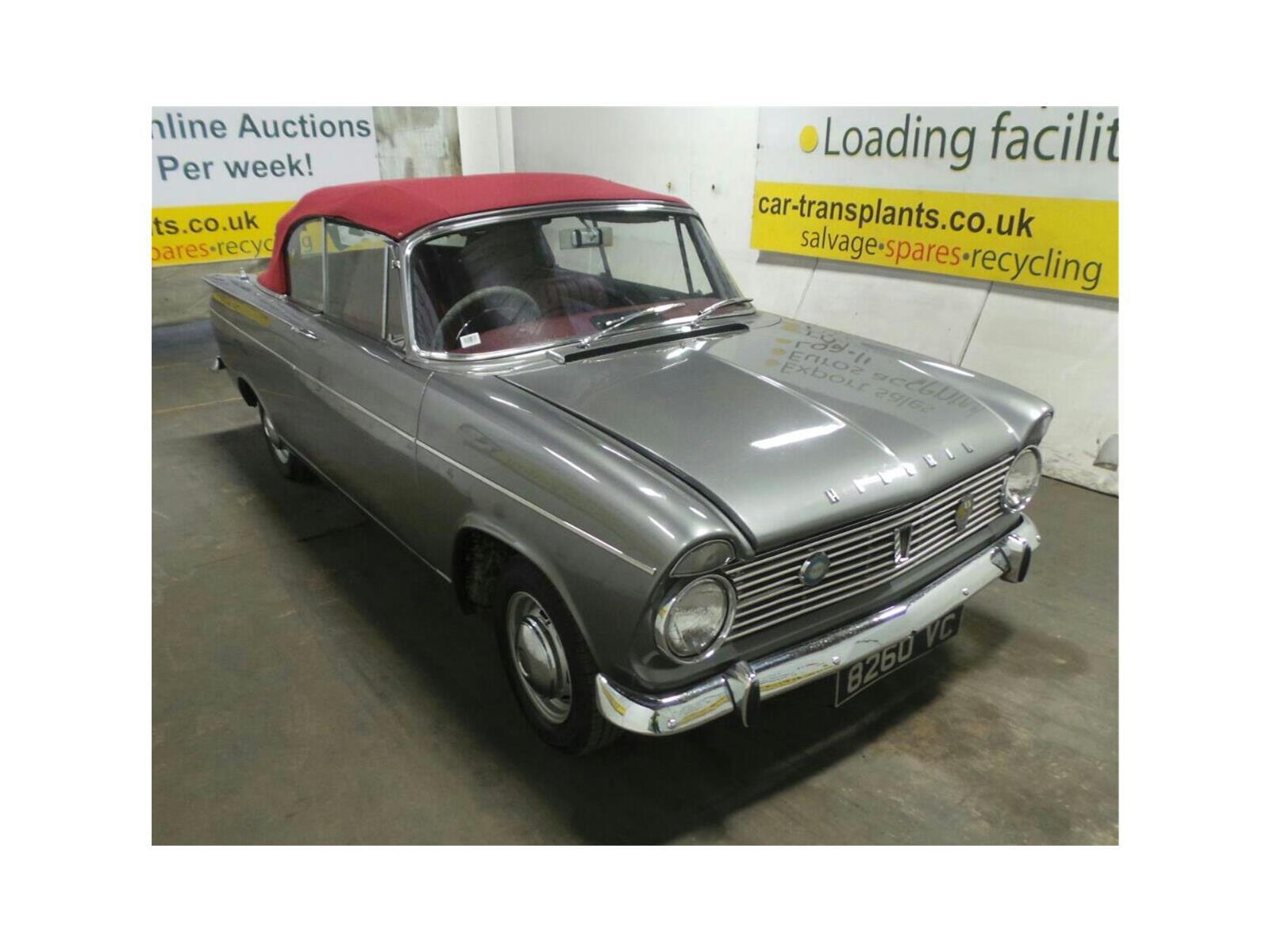 1963 Hillman 2 Door Cabriolet
