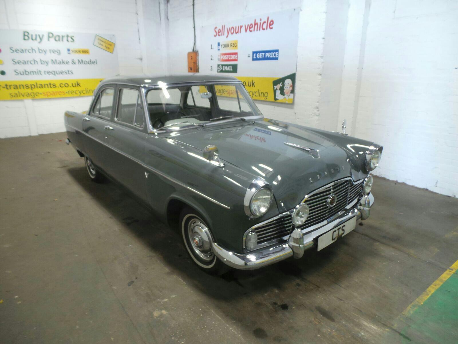 1961 Ford 4 Door Saloon