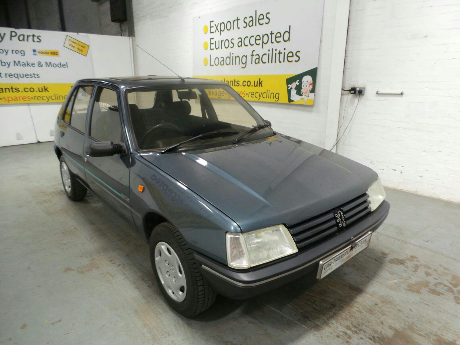 1995 Peugeot 205 1988 To 1997 5 Door Hatchback