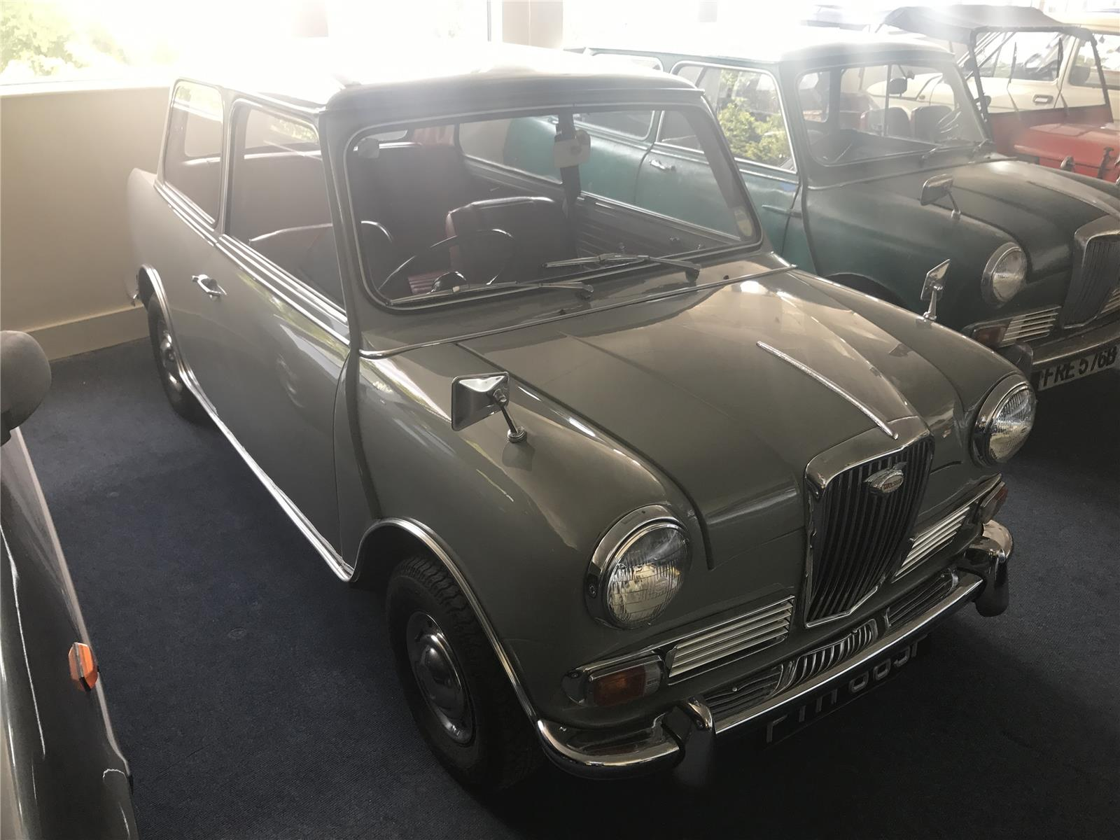 1968 WOLSELEY HORNET 1 2 DOOR SALOON