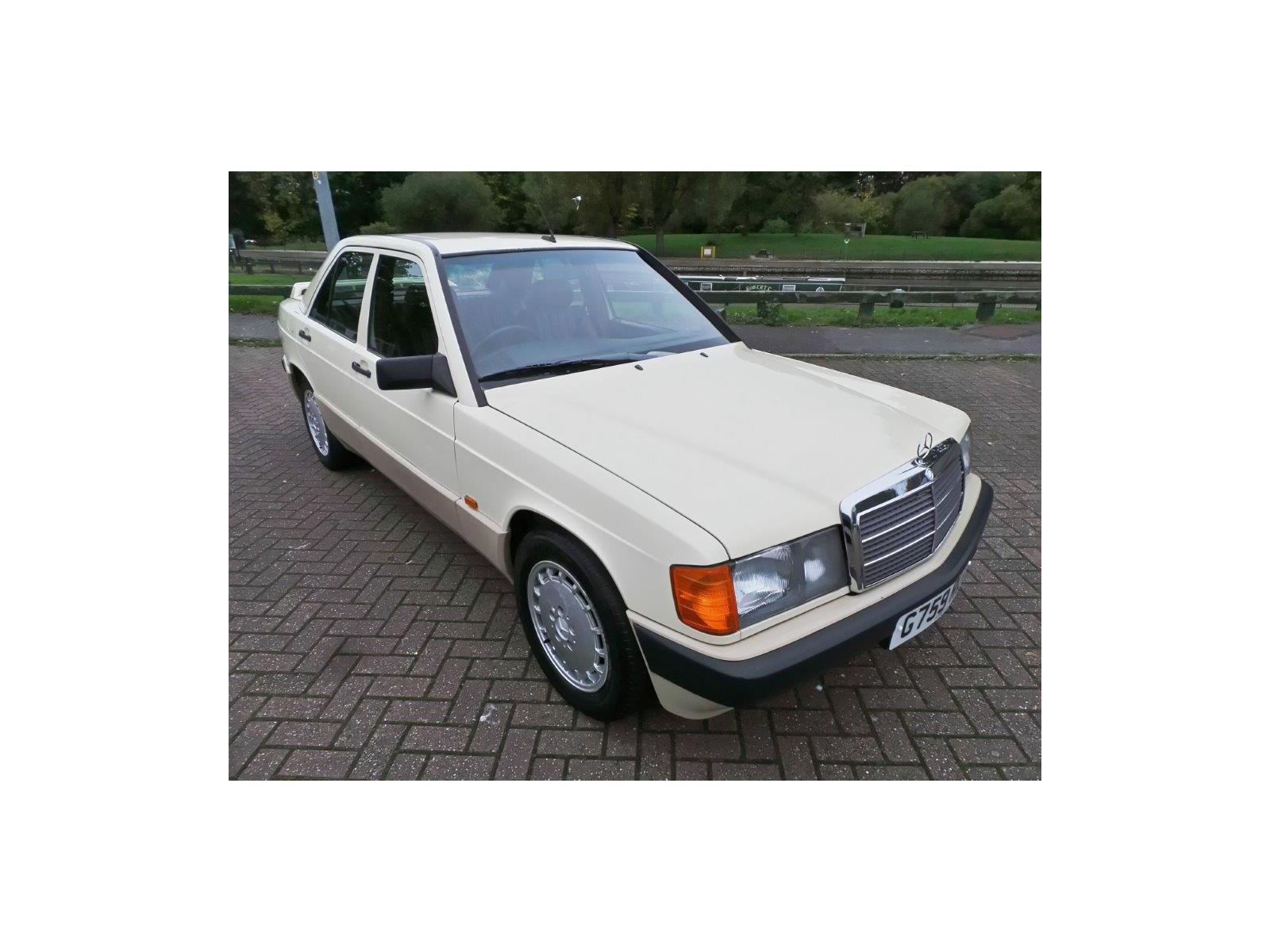 1989 MERCEDES 190 W201 1982 TO 1993 4 DOOR SALOON