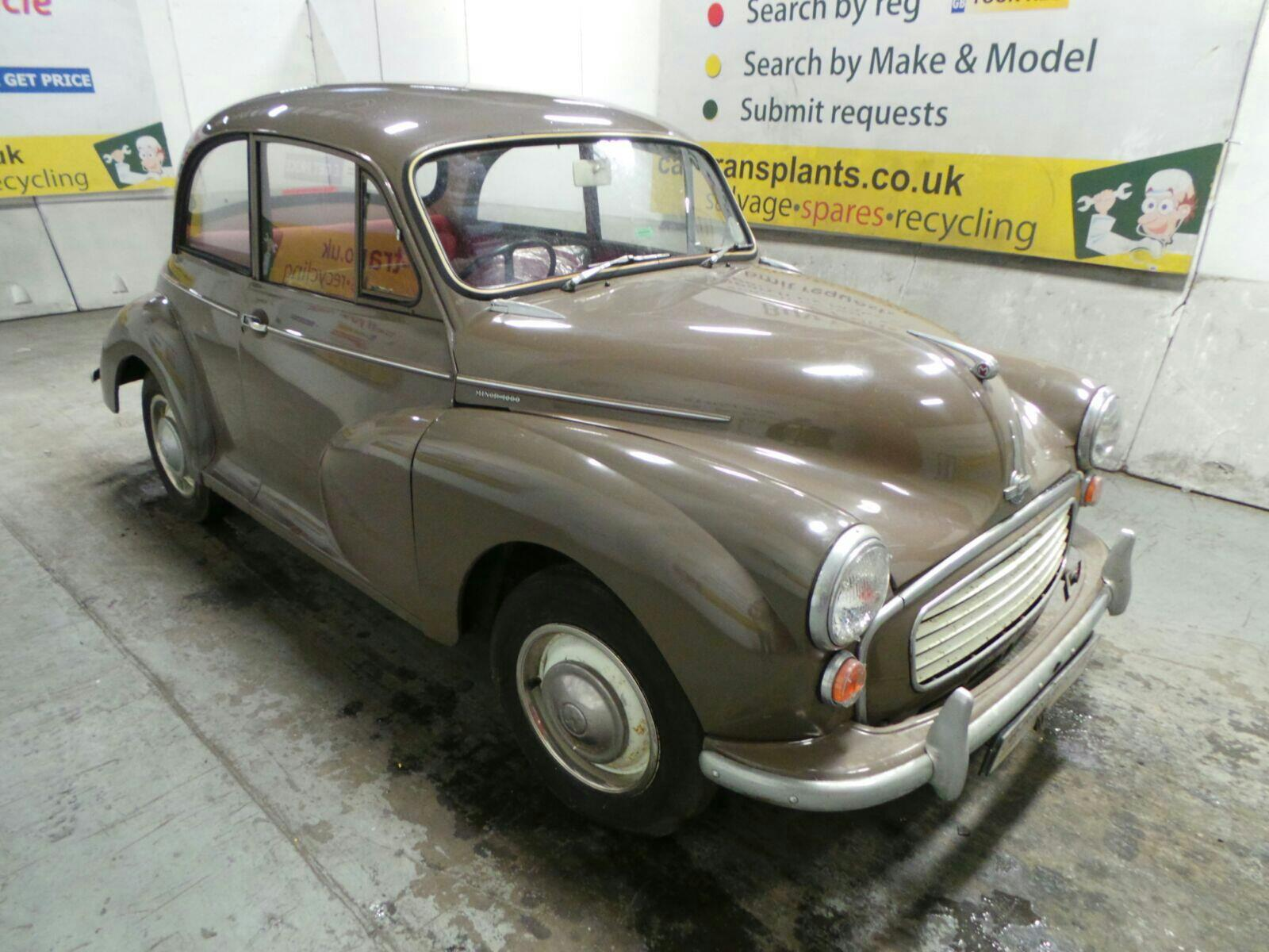 1968 MORRIS MINOR 1000 2 DOOR SALOON