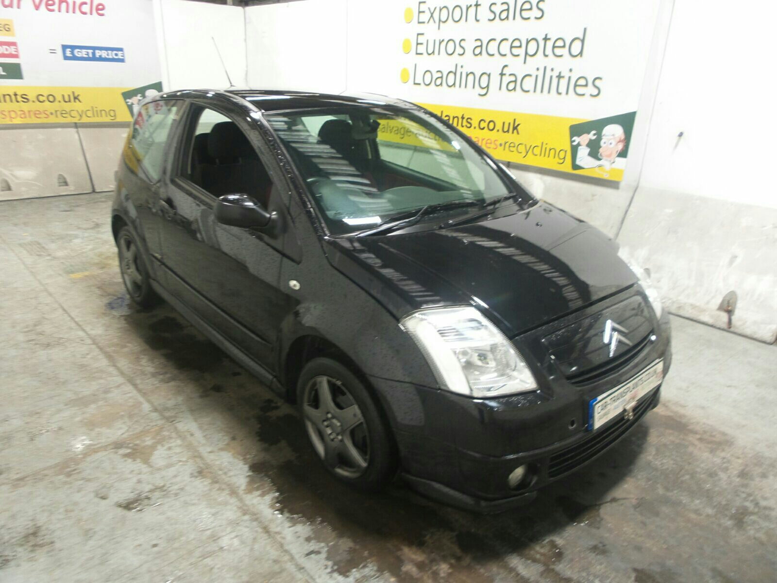 2007 citroen c2 furio 1360cc petrol manual 5 speed 3 door. Black Bedroom Furniture Sets. Home Design Ideas