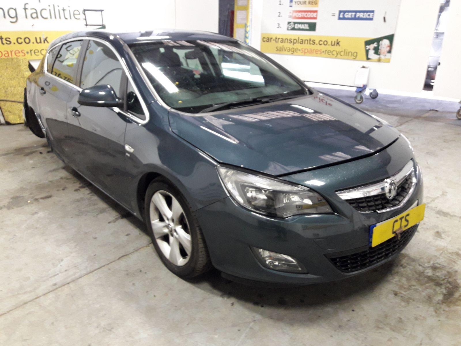 Vauxhall Astra 2010 To 2015 SRi 5 Door Hatchback