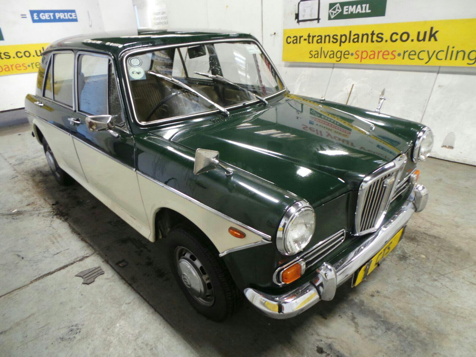 1971 Classic UK BRITISH 2 Door Saloon