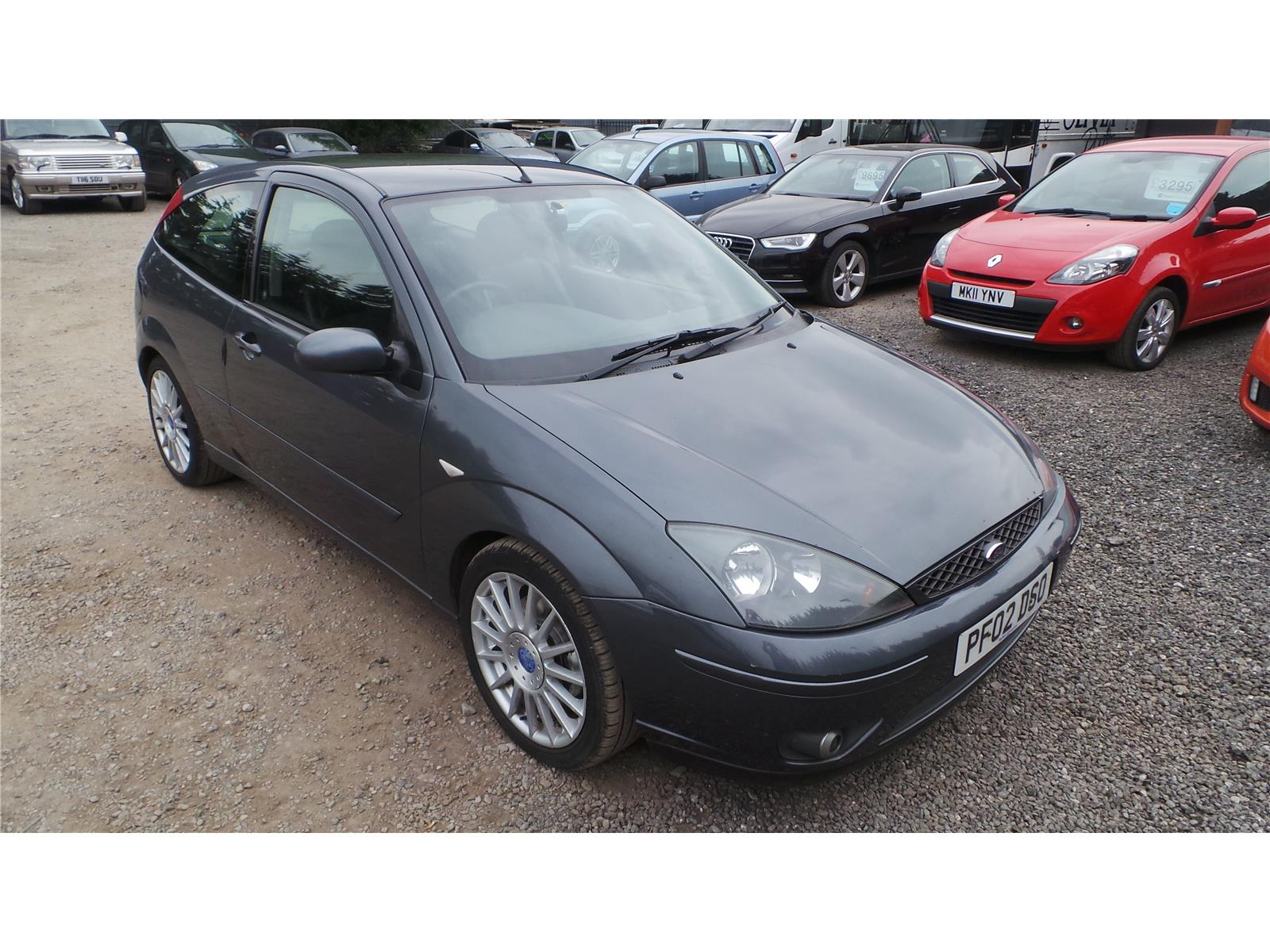 2002 Ford Focus ST170 Petrol Manual 3 Door Hatchback