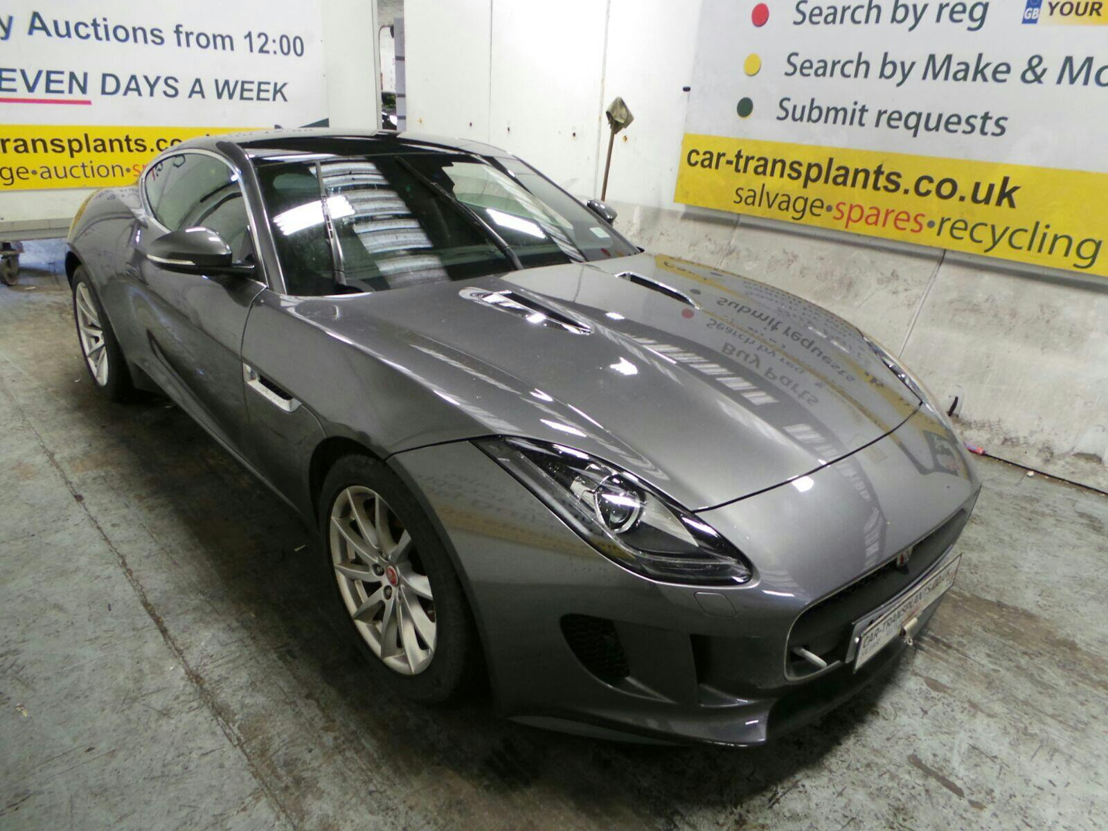 2016 jaguar f type 2013 to 2017 2 door coupe petrol automatic breaking for used and spare. Black Bedroom Furniture Sets. Home Design Ideas