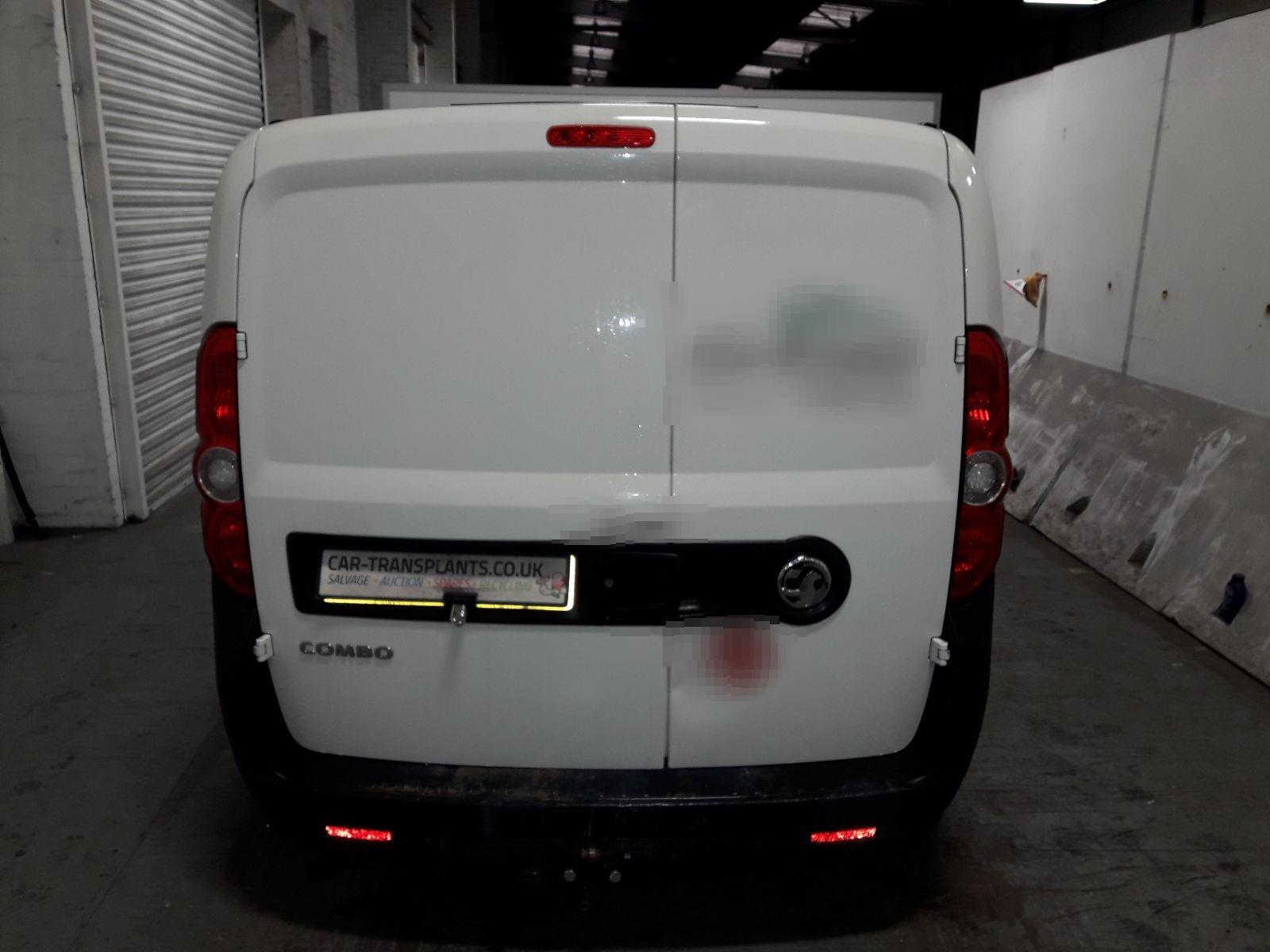 2016 Vauxhall Combo 2012 On 2000 L1h1 Cdti Lcv Diesel Manual Spares Enquiry Form