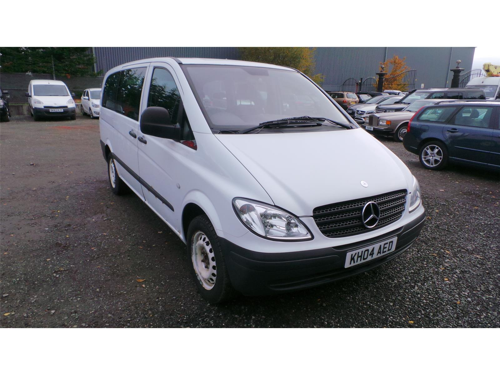 2004 Mercedes-Benz Vito 109 LONG CDi 2148 Diesel Manual 6 Speed L.C.V.