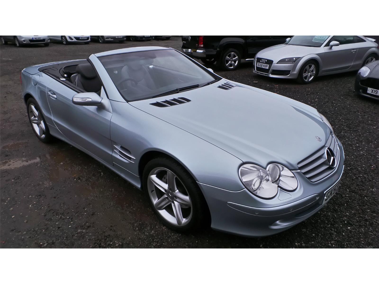 2003 Mercedes-Benz SL SL 350 3724 Petrol Automatic 5 Speed 2 Door Cabriolet
