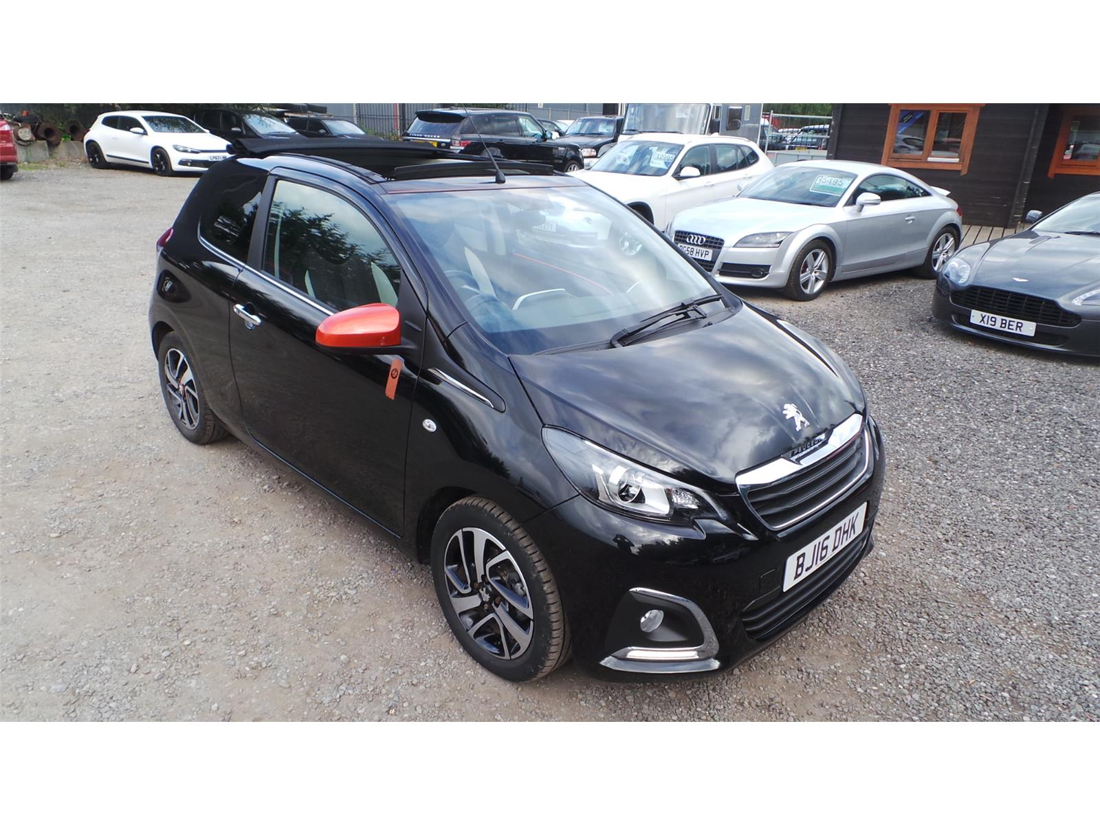2016 Peugeot 108 Top Roland Garros PureTech 1199 Petrol Manual 5 Speed 3 Door Hatchback