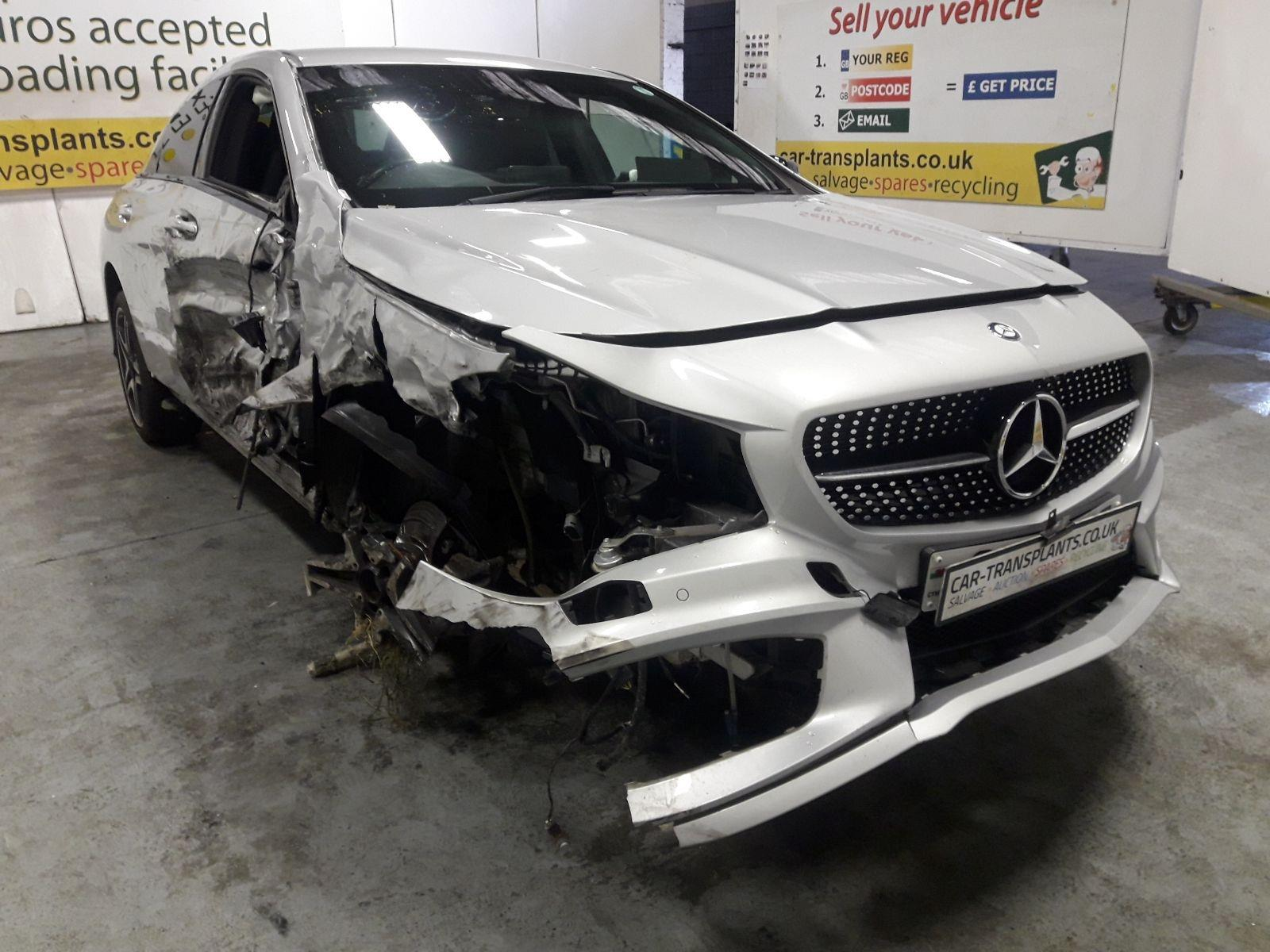 2015 Mercedes-Benz CLA Class 2013 To 2016 4 Door Saloon (Petrol