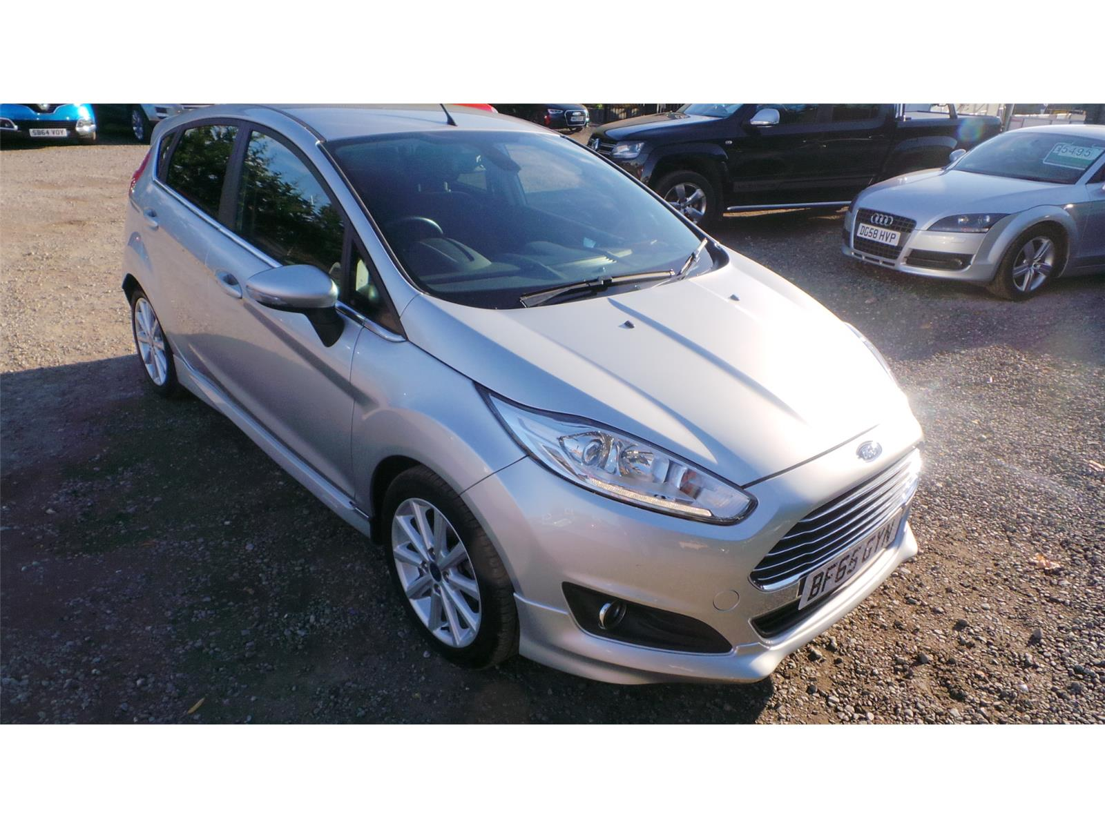 2015 Ford Fiesta Titanium 998 Petrol Manual 5 Speed 5 Door Hatchback