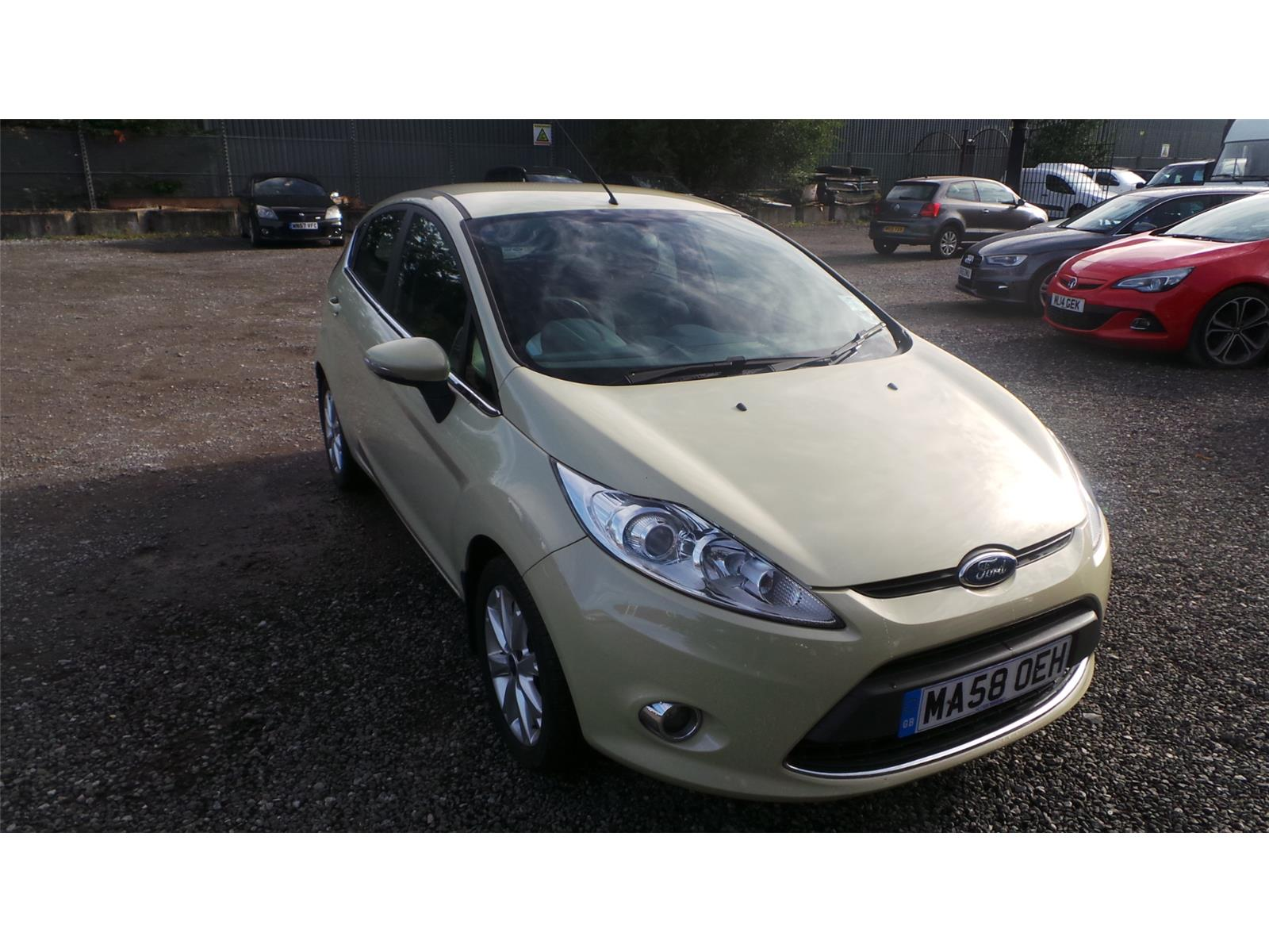 2008 Ford Fiesta Zetec Petrol Manual 5 Door Hatchback