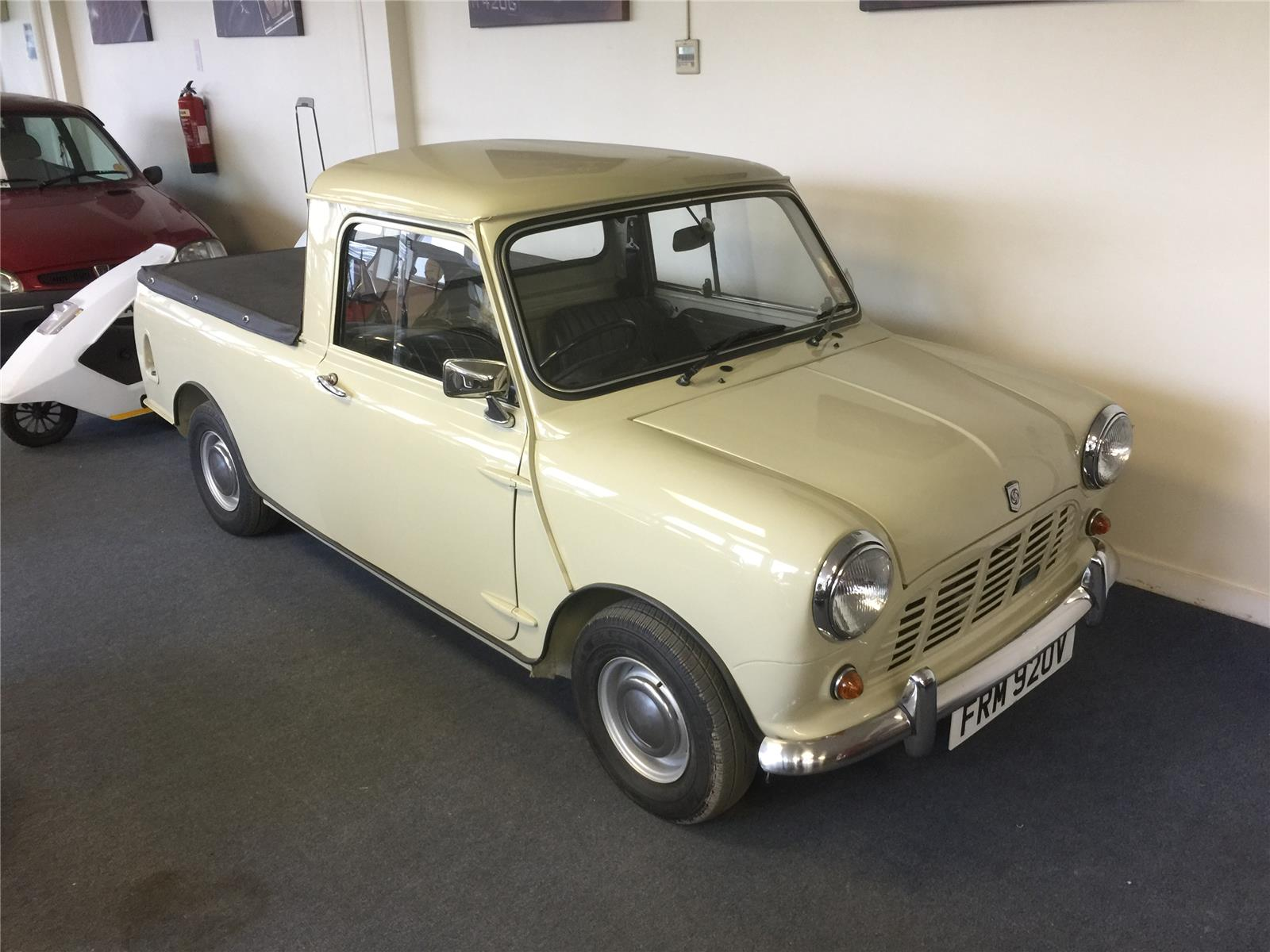 1979 AUSTIN MINI 95 PICK-UP CAR DERIVED VAN