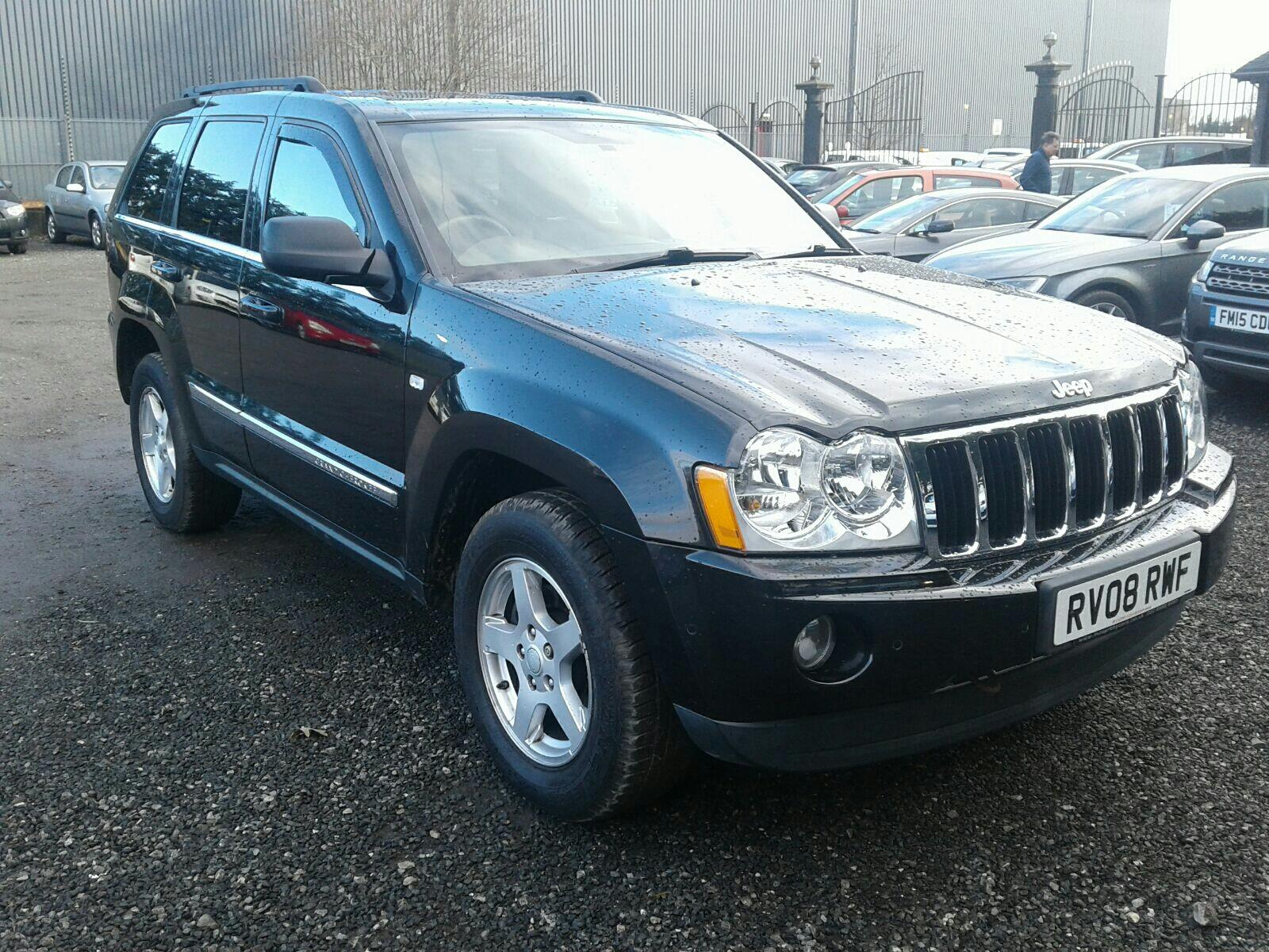 2008 Jeep Grand Limited CRD 2987 Diesel Automatic 5 Speed 5 Door 4x4