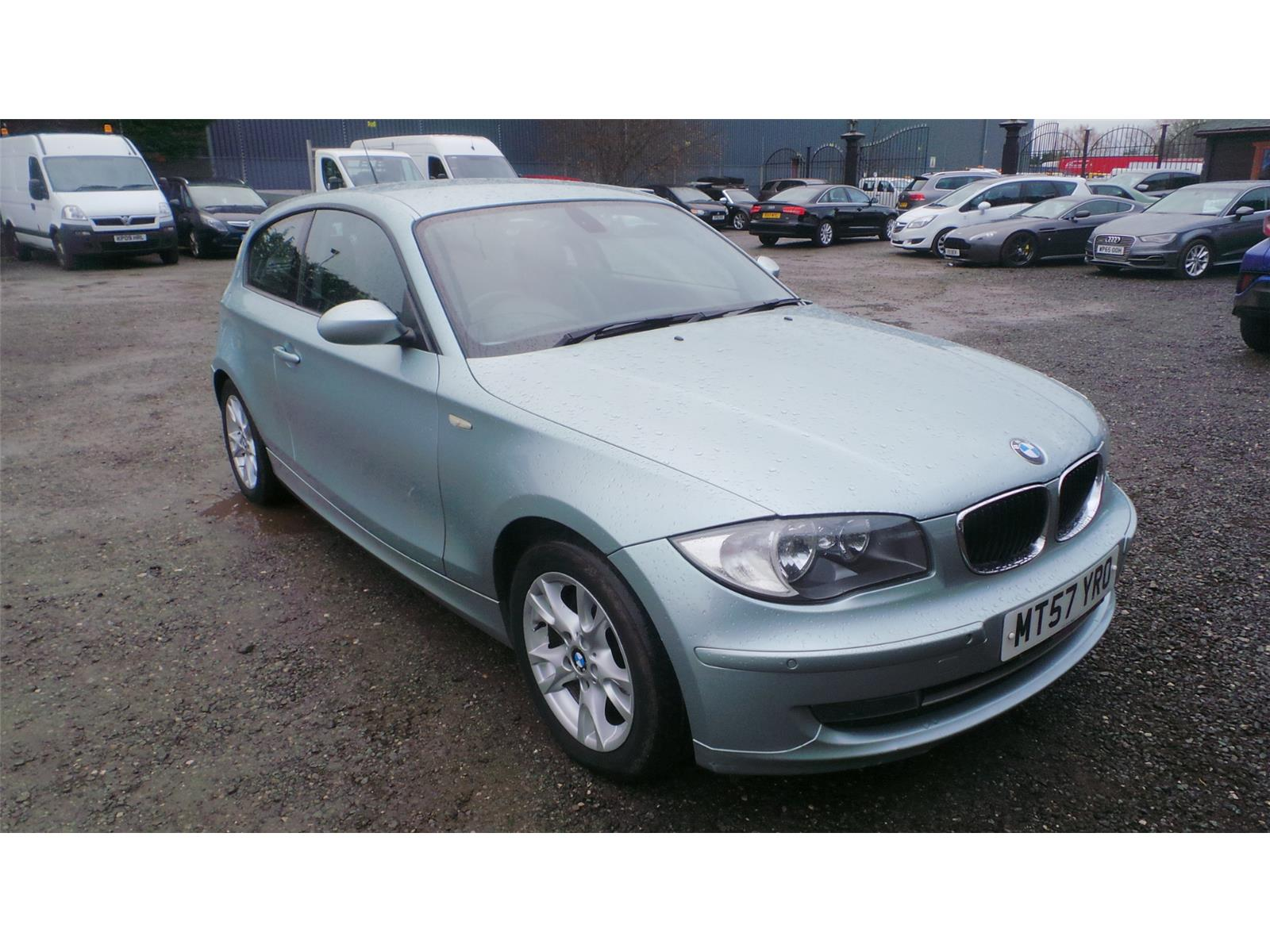 2007 BMW 1 Series 120d SE 1995 Diesel Manual 6 Speed 3 Door Hatchback