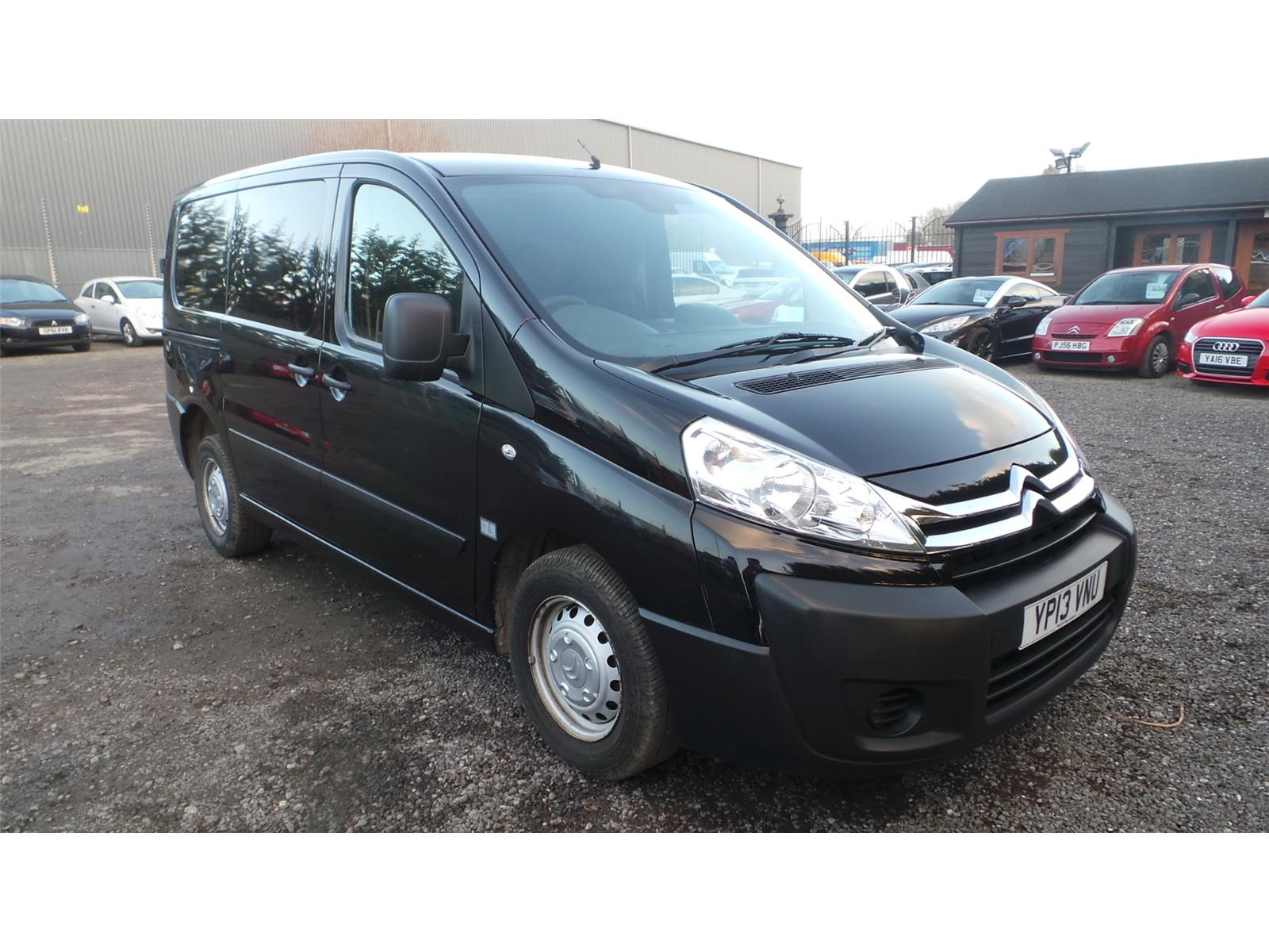 2013 Citroen Dispatch L1H1 1000Kg Level 1 1560 Diesel Manual 5 Speed L.C.V.