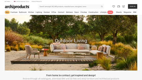 Archiproducts website