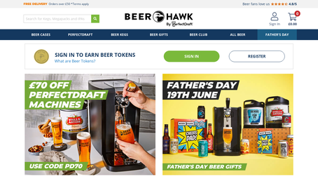 BeerHawk Ltd. website screenshot