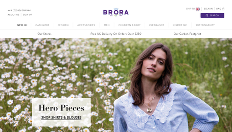 Brora website