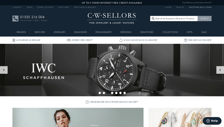C.W. Sellors website