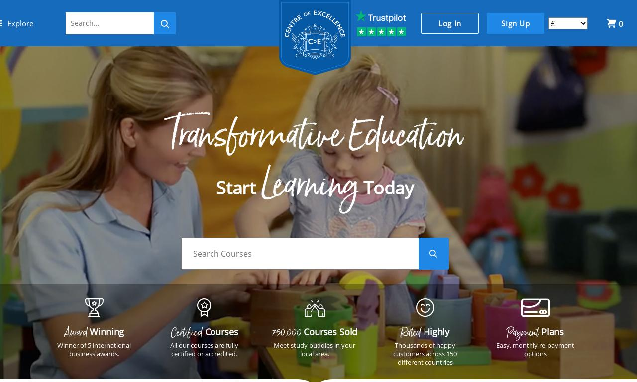 Centre of Excellence website