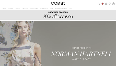 Coast UK website