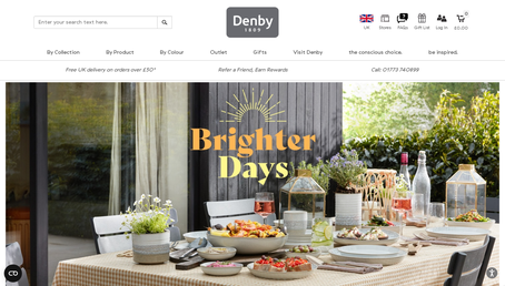 Denby Retail Ltd website