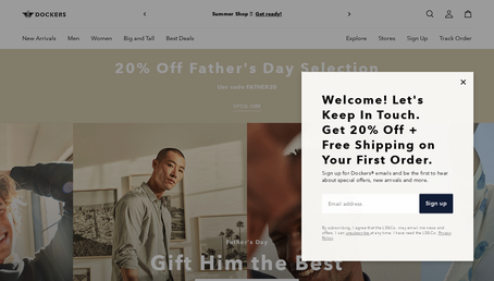 Dockers UK website