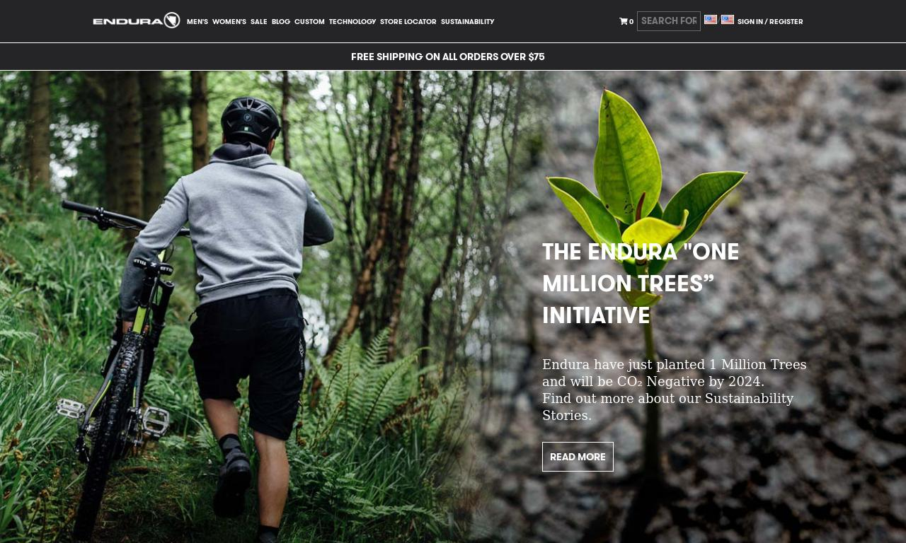 Endura website
