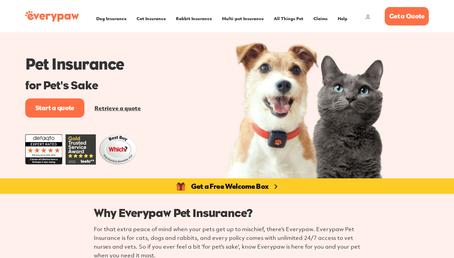 Everypaw website