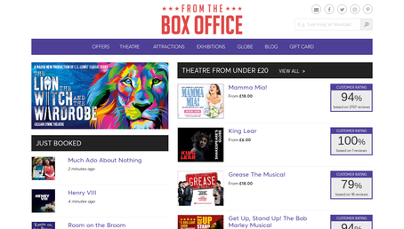 From The Box Office website