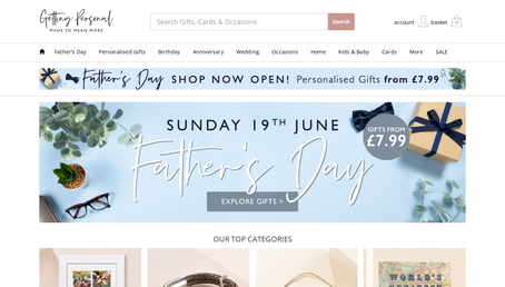 Getting Personal website