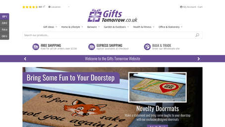 Gifts Tomorrow website