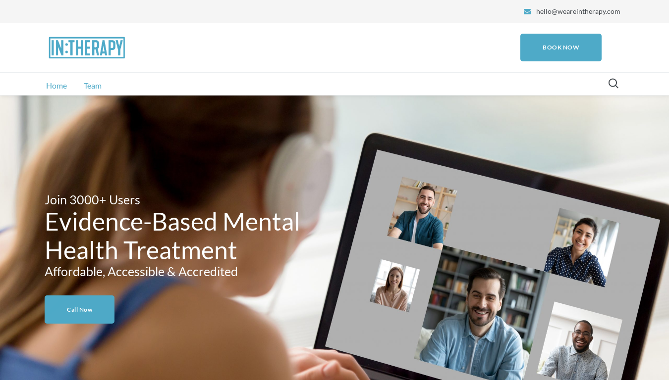 IN:THERAPY website