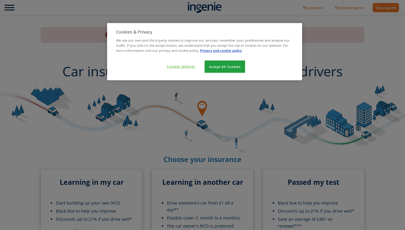 Ingenie website