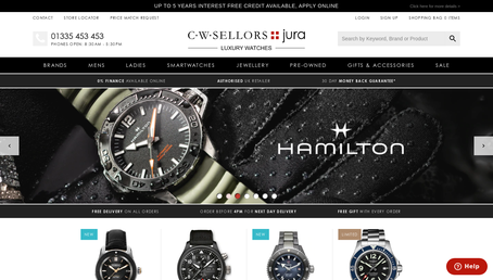 Jura Watches promo code screenshot