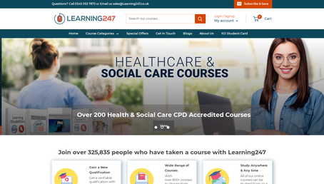 Learning 24/7 website