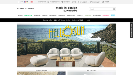 Made in Design UK website