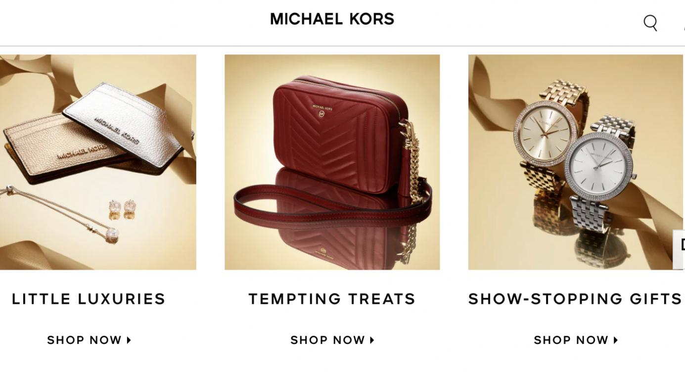 Michael Kors UK website